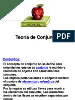 Conceptos Elementales de La Teoría de Conjuntos
