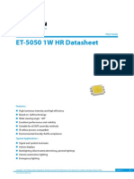 ET 5050 1W HR datasheet