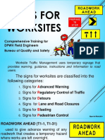 Module 4.2 Signs for Worksites 46