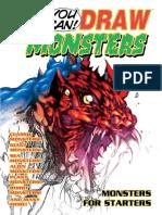 dibujar monstruos