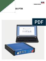 Franeo 800 Ptm User Manual Enu