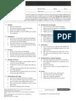 Escala de Deprecionhoja de Respuestas Bdi II