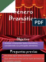 PPT Genero Dramatico