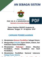 1.Pendidikan Sbg Sistem- PEKERTI- Angk.65- Nasaruddin Salam