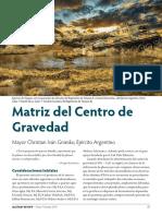 Gniesko Matriz Del Centro de Gravedad SPA Q1 2019