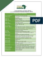 Academic Calendar Sept-Dec 2019