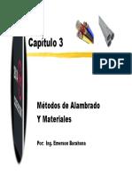 Metodos de Alambrado y Materiales