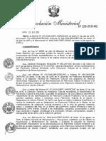 Declaratoria de las manifestaciones del Patrimonio Cultural Inmaterial como Patrimonio Cultural de la Nación