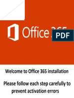 Office 365 Installation Guide