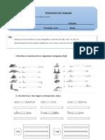 Evaluacion de Lenguaje Uso Ortografico Mp Mb y Nv