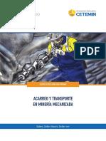MANUAL - Acarreo y Transporte en Mineria Mecanizada
