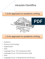 1.3 an Approach to Academic Writing