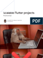 Scalable Flutter Projects Practical Tips - IOxVN