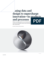 Fusing Data and Design to Supercharge Innovation