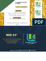 Exposición - NIC 27°!