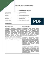 RPP Perencanaan Bisnis KD 1