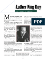 Lectura_martinlutherkingday