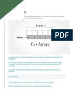 C++ Arrays Tutorial