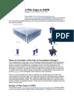 Pilecap Design in SAFE