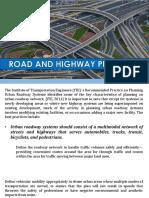 Highway planning