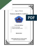 Makalah Bhuta Yadnya