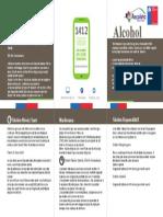 triptico alcohol