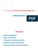 Lecture - 01 - Introduction to Malware Analysis.pdf