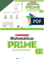 PRIME 2° Guía Profesor con Respuestas