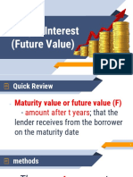 Simple Interest (Future Value)