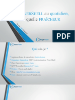 Utiliser PowerShell Au Quotidien de Façon Cool - V1