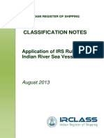 1 Cn Application of Irs Rules to Indian River Sea Vessel Aug 2013