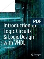 Introduction to Logic Circuits & Logic Design With VHDL, Second Edition