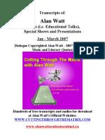 ALAN WATTS INTERVIEW