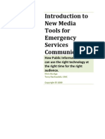 Communication Tools for Emergency Services