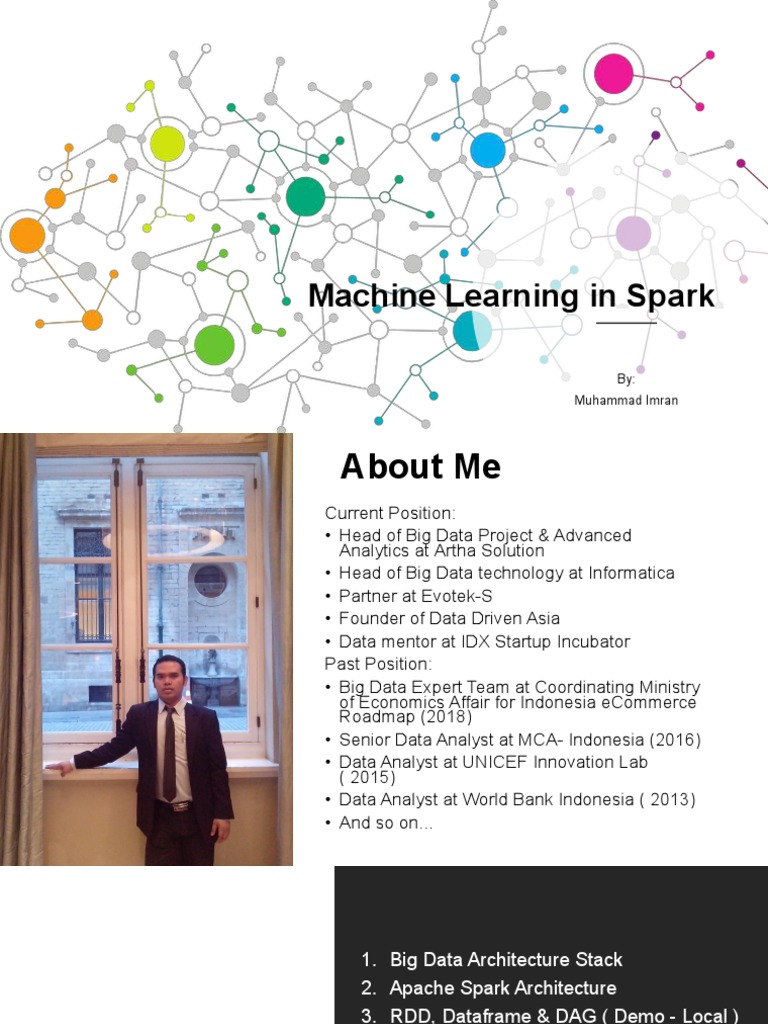 Machine Learning in Spark | Apache Spark | Databases