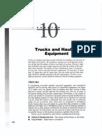 Truks and Hauling Equipment