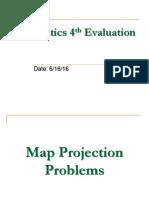 Geomatics 4th Evaluation