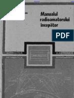 Radu Ianculescu - Manualul Radioamatorului Incepator