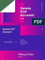 Easy Instructions to Delete POF Account