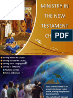 ministry in the new testament