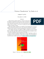 """Solutions to """"Pattern Classification"""" by Duda et al."""