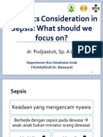 Dr Pudjiastuti - Pediatrics Consideration in Sepsis