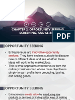 CHAPTER 2 Opportunity Seeking