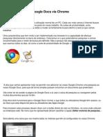 Pesquisar No Google Docs via Chrome