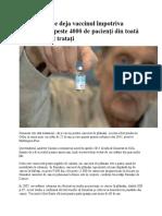 vaccin impotriva cancerului