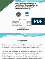 Journal reading bacterial vaginosis