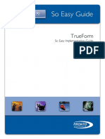 TrueForm Implementation Guide V660 Only