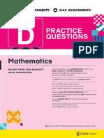 ICAS Math Pratice Questions