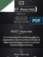 Most Analysis