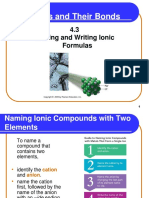 Naming and Writing Ionic Formulas